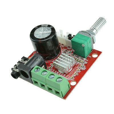 Hi-Fi PAM8610 Audio Stereo Amplifier Board Module Dual D Class Channel 2X10W 12V