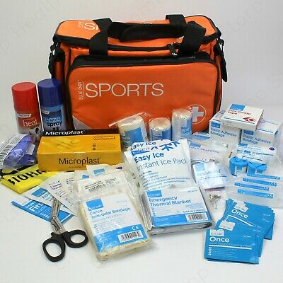 Multi Sport First Aid Kit in Large Bag. Football, Rugby, Netball, Hockey Team.