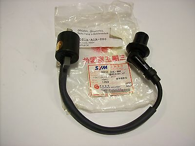 Ignition coil for SYM MIO 50 Year um approx. 2005 ET no. 3051A-A1A-000