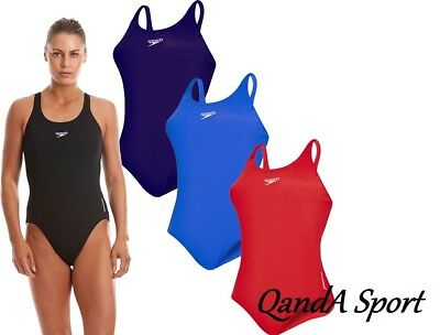 Ladies Womens Speedo Endurance Medalist One Piece Swimsuit Swimwear Bathers
