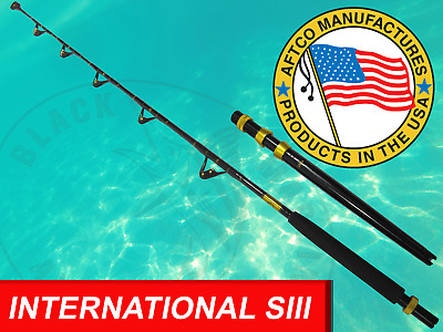 BMA USA AFTCO Fully Rolled Rod with 80lb AFTCO BUTT Game Fishing Trolling Rod