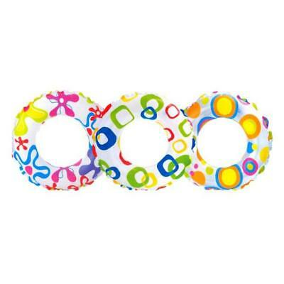 Inflatable Swim Ring Donut Pool Beach Toy kid Water fun Swimming Float tube ring