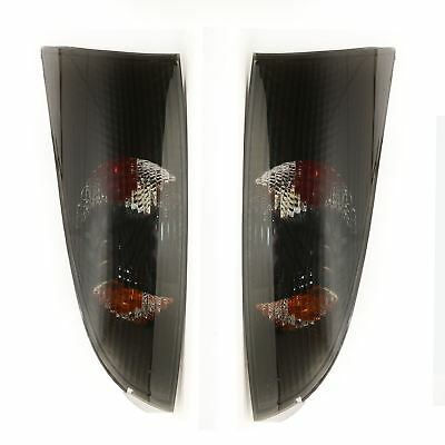 Ford Focus Mk1 Hatchback 1998-2004 Rear Tail Lights Smoked  Pair