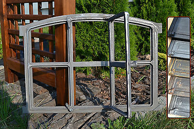 567 x 423mm  New Antique Cast Iron Window Frame - 6 Colors ! - BUY DIRECTLY !