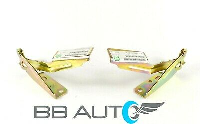 Hood Hinges Set Pair Rh Lh Steel For 2000-2011 Ford Focus Fo1236119 Fo1236120