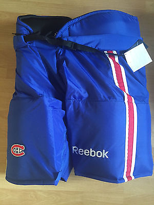 NEW NHL PRO Stock HP70 Reebok CCM hockey Pants Montreal Canadiens XL Made  Canada