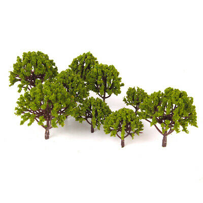 20pcs Multi Scale Model Trees Train Diorama Wargame Forest Park Scenery HO OO N