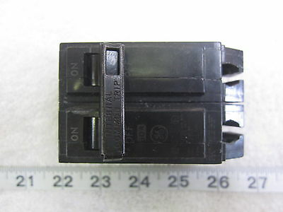 GE General Electric THQL2150 2P 50A 240V Circuit Breaker, Used