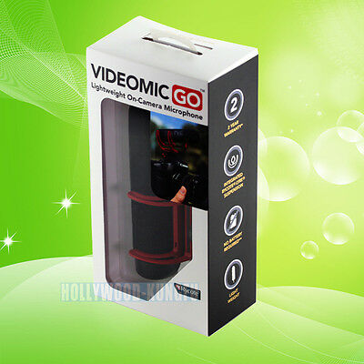 For Rode Videomic VidMic GO On Camera Shoe Mount Rycote Lyre Onboard Microphone