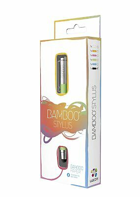 Wacom BAMBOO STYLUS Solo 2 * Green Digital Pen NEW Boxed for iPad Tablets etc