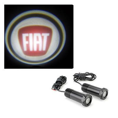 Fiat 500 - Cree LED Door Logo Shadow Projector Welcome Lights 1 x Pair 12v