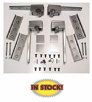 Universal Regular and Suicide Hidden Door Hinge Kit - Carolina Custom HH600