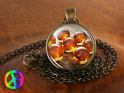 Anime DragonBall Z Dragon Ball DBZ Unisex Pendant Necklace Jewelry Cosplay Gift