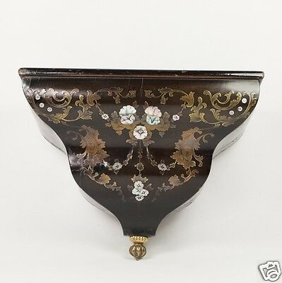 Antique 18th Century French Boulle Wall Bracket Louis XVI Circa 1790