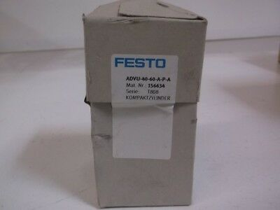 Festo Advu-40-60-A-P-A Compact Cylinder *factory Sealed*