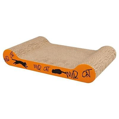 TRIXIE Plaque griffoir Wild Cat 41x7x24cm - Orange - Pour chat  NEUF