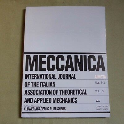Meccanica 37_1/2 2002_Stochastic Dynamics of Nonlinear Mechanical Systems