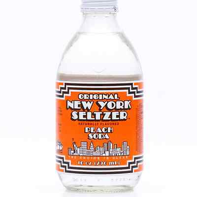 Original New York Seltzer is BACK - Peach Soda 6pk - FREE SHIPPING