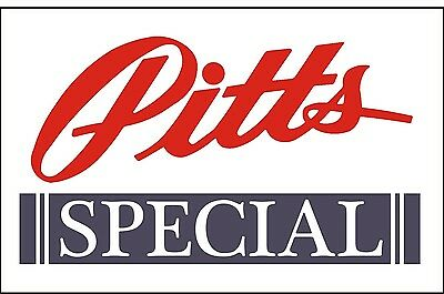 A152 Pitts Special Airplane banner hangar garage decor Aircraft signs