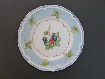 Villeroy & Boch Cottage Blue Accent Salad Plate Germany