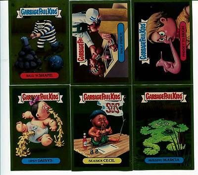 Garbage Pail Kids ANS 3 GPKs 2004 Complete Gold Set