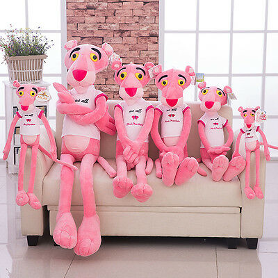 50-180cm Animation Pink Panther Stuffed Animal Plush Doll Baby Toy Kid's Gift