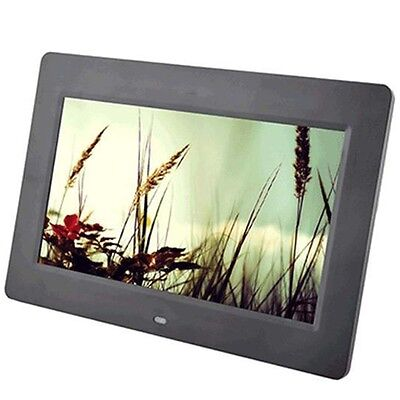 10.1 LCD HD Electronic Digital Photo Frame Picture Photography MP4 Player BLK LN