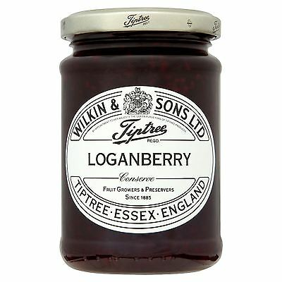 6 Packs of Tiptree Loganberry Conserve 340g