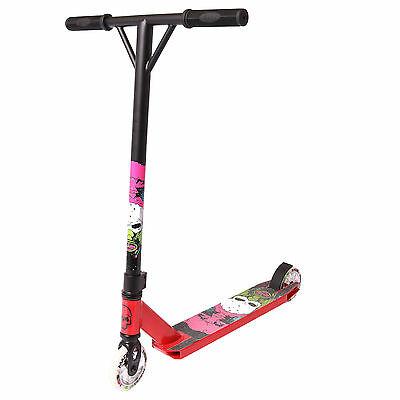 MADD Gear (MGP) Nuked II VX6 Pro Kids Complete Stunt Scooter, Red