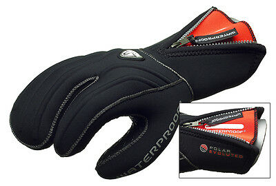 NEW Waterproof G1 Professional Top Quality 7mm 3 Finger Dive Mitten / Glove