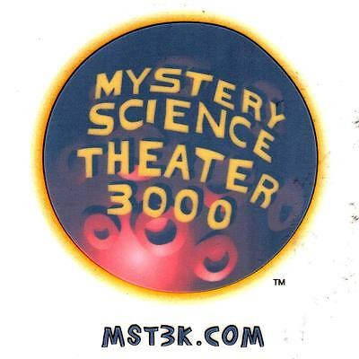 New: MYSTERY SCIENCE THEATER 3000 (MST3K) Sticker Package #3