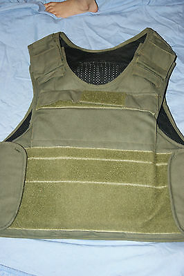 Mtp Multicam Body Armour Overt Green Vest With Balistic Plates Bullet Proof Army