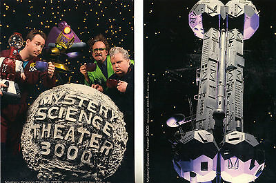New: MYSTERY SCIENCE THEATER 3000 (MST3K) Deluxe Fan Pack