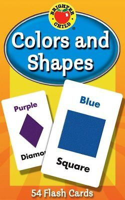 Colours and Shapes Educational Flash Cards Brighter Child NEW