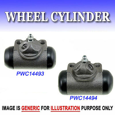 """WC8-2 Front Left & Right Drum Brake Wheel Cylinder Pair (2PCS) Bore Size 1 1/8"""""""