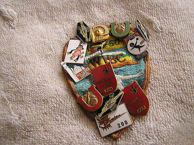 Vintage Lot of Bowling Pins Patch