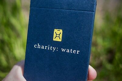 Charity: Water Deck Of Playing Cards By Theory11 Magic Tricks Poker Size