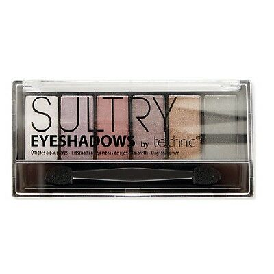 Technic Sultry 6 Colour Eyeshadow Palette
