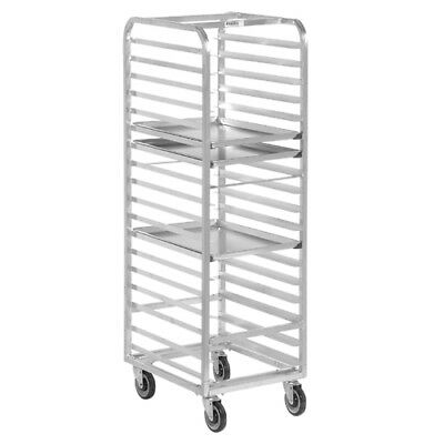 "Channel Bun Pan Rack, Aluminum, Front Loading, 70-1/4"" High For 15 Pans"
