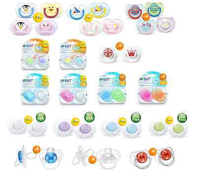Philips Avent Soothers Translucent,Fashion,Royal,Free Flow,Contemporary,Animal