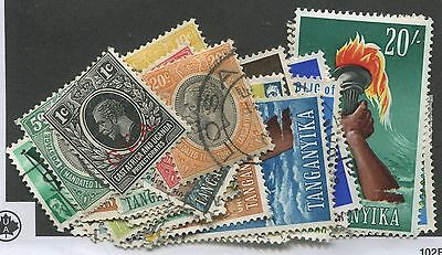 Tanganyika Mint & Used Collection Remainder 27 Stamps