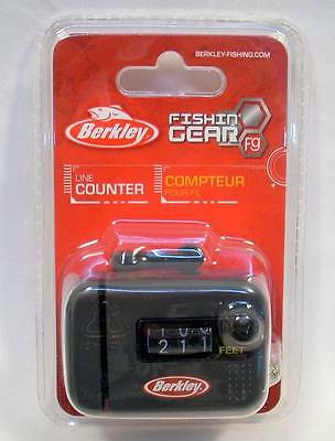 Berkley Clip-On Rod Line Counter Fishing 3 Digits Great For Trolling New