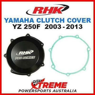 Rhk Mx Black Case Clutch Cover Yamaha Yz250F Yz 250F 2003-2013 Dirt Bike Moto