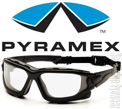 Pyramex I Force Clear Dual Anti Fog Lenses Safety Glasses Goggles Z87+