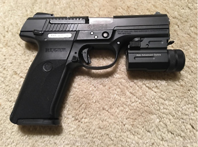 Compact Green Laser Sight New Smaller Design !! for 5.7x28 fn Walter 9mm ccp