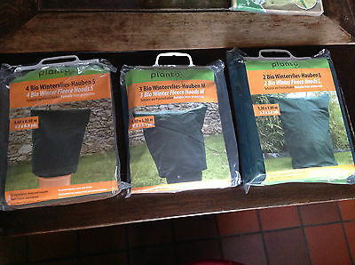 PLANTO PRO BIO WINTER FLEECE HOODS -Reliable Frost Protection  3 Sizes  BNIB