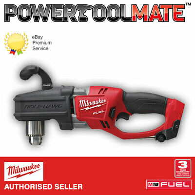 Milwaukee M18CRAD-0 18v Fuel Hole Hawg Right Angle Drill - Naked - Body Only