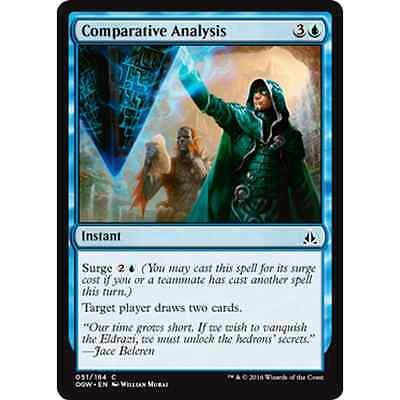 MTG OATH OF THE GATEWATCH * Comparative Analysis x2