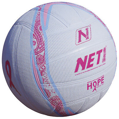 Net1 Hope TechNi Grip Rubber Netball Pink / Blue – Sizes 4 & 5 rrp£19