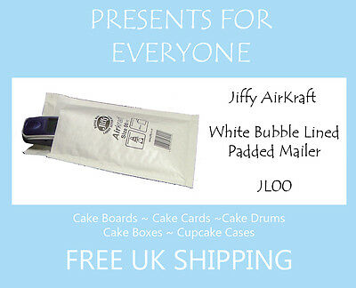 600x White Bubble Featherpost Mail Padded Envelope size int 120x210mm B//00